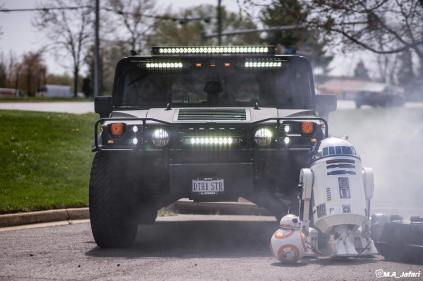 Death Star Hummer with R2
